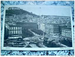 ITALY CAMPANIA - NAPOLI ( NAPOLI ) PIAZZA MUNICIPIO  - VIAGGIATA REGNO 1926 - Napoli