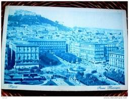 ITALY CAMPANIA - NAPOLI ( NAPOLI ) PIAZZA MUNICIPIO  - VIAGGIATA REGNO 1930 - Napoli