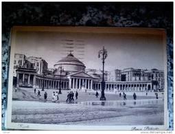 ITALY CAMPANIA - NAPOLI ( NAPOLI ) PIAZZA PLEBISCITO - VIAGGIATA REGNO 1934 - Napoli