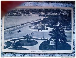 ITALY CAMPANIA - NAPOLI ( NAPOLI ) PIAZZA VITTORIA - VIAGGIATA REGNO 1946 - Napoli