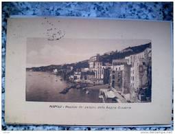 ITALY CAMPANIA - NAPOLI ( NAPOLI ) POSILLIPO DAL PALAZZO DELLA REGINA GIOVANNA  - VIAGGIATA REGNO 1913 - Napoli