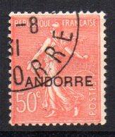 Sello Nº 15 (catalogo Yvert)  Andorra Francesa - Andorre Français