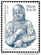 REPUBBLICA ITALIANA  ITALY  ANNO 2013 - SCRITTORE POETA GIOVANNI BOCCACCIO -  NUOVI MNH ** - 6. 1946-.. Repubblica