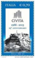 REPUBBLICA ITALIANA -  ITALY - ANNO 2013 -  ASSOCIAZIONE CIVITA - NUOVI MNH ** - 6. 1946-.. Repubblica