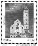 REPUBBLICA ITALIANA  ITALY  ANNO 2012 - CATTEDRALE DI TRANI -  NUOVI MNH ** - 6. 1946-.. Repubblica