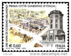 REPUBBLICA ITALIANA  ITALY  ANNO 2012 - CITTÀ GIARDINO CUSANO MILANINO -  NUOVI MNH ** - 6. 1946-.. Repubblica