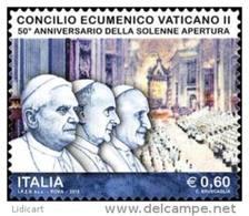 REPUBBLICA ITALIANA  ITALY  ANNO 2012 - CONCILIO ECUMENICO VATICANO II -  NUOVI MNH ** - 6. 1946-.. Repubblica