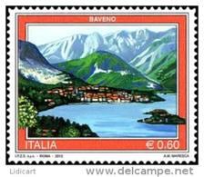 REPUBBLICA ITALIANA  ITALY  ANNO 2012 - TURISTICA BAVENO, MAIORI,  MONTECASSINO, USTICA, MANIFESTO ENIT  -  NUOVI MNH ** - 6. 1946-.. Repubblica