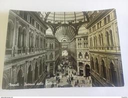 ITALY -  NAPOLI - ( NAPOLI ) INTERNO GALLERIA VITTORIO EMANUELE - VIAGGIATA 1956 - Napoli