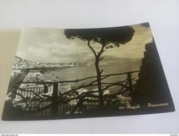 ITALY -  NAPOLI - ( NAPOLI ) PANORAMA - VIAGGIATA 1951 ( Gemelli Lire 5 Italia Al Lavoro Francobolli  Rovinati ) - Napoli