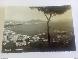ITALY -  NAPOLI - ( NAPOLI ) PANORAMA  - VIAGGIATA 1959 - Napoli
