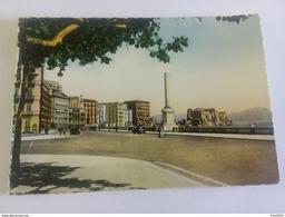 ITALY -  NAPOLI - ( NAPOLI ) LUNGOMARE, AUTO D' EPOCA  - VIAGGIATA 1956 - Napoli