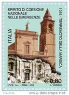 REPUBBLICA ITALIANA  ITALY  ANNO  2015 - Centenario Del Terremoto Della Marsica -  NUOVI MNH ** - 6. 1946-.. Repubblica