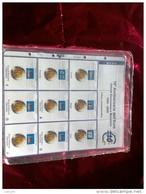MASTERPHIL - FOGLI PER CONTENERE I 2 EURO COMMEMORATIVI - ANNO 2009 -  DECENNALE EURO - NUOVI - Materiale