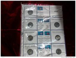 MASTERPHIL - FOGLI PER CONTENERE I 2 EURO COMMEMORATIVI - ANNO 2008 -  NUOVI - Materiale