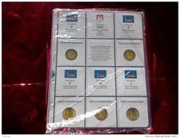 MASTERPHIL - FOGLI PER CONTENERE I 2 EURO COMMEMORATIVI - ANNO 2008 - GERMANIA 5 ZECCHE -  NUOVI - Materiale
