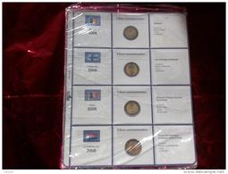 MASTERPHIL - FOGLI PER CONTENERE I 2 EURO COMMEMORATIVI - ANNO 2006 -   NUOVI - Materiale