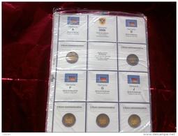 MASTERPHIL - FOGLI PER CONTENERE I 2 EURO COMMEMORATIVI - ANNO 2006 - GERMANIA 5 ZECCHE -  NUOVI - Materiale