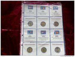 MASTERPHIL - FOGLI PER CONTENERE I 2 EURO COMMEMORATIVI - ANNO 2005 -  NUOVI - Materiale