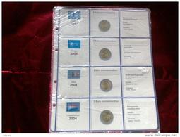MASTERPHIL - FOGLI PER CONTENERE I 2 EURO COMMEMORATIVI - ANNO 2004 -  NUOVI - Materiale