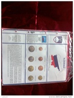 MASTERPHIL - FOGLI PER CONTENERE LE SERIETTE DELL' EURO SLOVENIA - ANNO 2007 -  NUOVI - Materiale