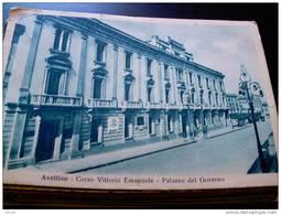 ITALY CAMPANIA - AVELLINO ( AVELLINO ) CORSO VITTORIO EMANUELE PALAZZO DEL GOVERNO - VIAGGIATA REGNO 1939 - Avellino