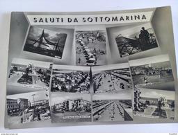 ITALY - SOTTOMARINA DI CHIOGGIA - ( VENEZIA ) SALUTI DA - VIAGGIATA 1956 - Venezia