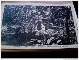 ITALY CAMPANIA - CASERTA  ( CASERTA ) PALAZZO REALE  PARCO REALE BAGNO DI VENERE GIARDINO INGLESE  VIAGGIATA REGNO 1935 - Caserta