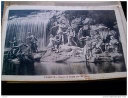 ITALY CAMPANIA - CASERTA  ( CASERTA ) PALAZZO REALE  BAGNO DI DIANA NEL PARCO REALE VIAGGIATA REGNO 1926 - Caserta