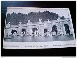 ITALY CAMPANIA - CASERTA  ( CASERTA ) PALAZZO REALE   CASCATA NINFE VIAGGIATA REGNO - Caserta