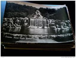 ITALY CAMPANIA - CASERTA  ( CASERTA ) PALAZZO REALE  GRANDE CASCATA  VIAGGIATA 1952 - Caserta