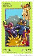 REPUBBLICA ITALIANA  ITALY  ANNO 2013 - FOLCLORE CARNEVALE DI TERMINI IMERESE -  NUOVI MNH ** - 6. 1946-.. Repubblica