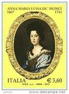 REPUBBLICA ITALIANA  ITALY  ANNO 2013 - ANNA MARIA LUISA DE MEDICI -  NUOVI MNH ** - 6. 1946-.. Repubblica