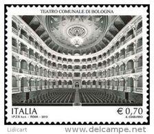 REPUBBLICA ITALIANA  ITALY  ANNO 2013 - TEATRO DI BOLOGNA -  NUOVI MNH ** - 6. 1946-.. Repubblica