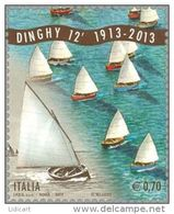 REPUBBLICA ITALIANA  ITALY  ANNO 2013 - BARCA A VELA CENTENARIO DINGHY -  NUOVI MNH ** - 6. 1946-.. Repubblica