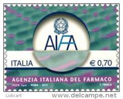 REPUBBLICA ITALIANA  ITALY  ANNO 2013 - AGENZIA ITALIANA FARMACO -  NUOVI MNH ** - 6. 1946-.. Repubblica
