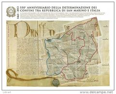 REPUBBLICA ITALIANA  ITALY  ANNO 2013 - BF CONFINI DI SAN MARINO EMISSIONE CONGIUNTA CON SAN MARINO -  NUOVI MNH ** - 6. 1946-.. Repubblica