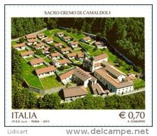 REPUBBLICA ITALIANA  ITALY  ANNO 2013 - EREMO DI CAMALDOLI -  NUOVI MNH ** - 6. 1946-.. Repubblica