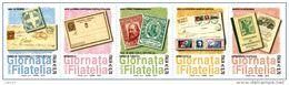 REPUBBLICA ITALIANA  ITALY  ANNO 2013 - STRISCIA GIORNATA DELLA FILATELIA  -  NUOVI MNH ** - 6. 1946-.. Repubblica