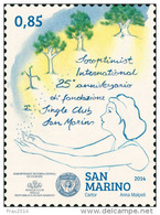 REPUBBLICA SAN MARINO - ANNO 2014  - SOROPTIMIST INTERNATIONAL SINGLE CLUB  -  NUOVI  MNH ** - Nuovi