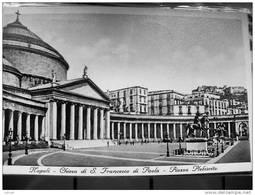 ITALY CAMPANIA - NAPOLI ( NAPOLI )  CHIESA DI SAN FRANCESCO DI PAOLA PIAZZA PLEBISCITO   - VIAGGIATA 1940 - Napoli