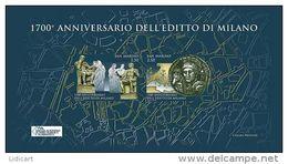 REPUBBLICA DI SAN MARINO - ANNO 2013 -  BF EDITTO DI MILANO - NUOVI   ** MNH - Nuovi