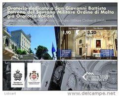 REPUBBLICA DI SAN MARINO - ANNO 2013 -  BF ORATORIO SAN GIOVANNI EMISSIONE CONGIUNTA CON SMOM - NUOVI   ** MNH - Nuovi