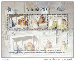 REPUBBLICA DI SAN MARINO - ANNO 2013 -  BF NATALE -  NUOVI   ** MNH - Nuovi