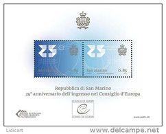 REPUBBLICA DI SAN MARINO - ANNO 2013 -  BF CONSIGLIO D' EUROPA -  NUOVI   ** MNH - Nuovi