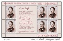 STATO CITTA' DEL VATICANO - VATIKAN STATE - PAPA FRANCESCO - ANNO 2013 - MF GIOACCHINO BELLI - NUOVI MNH ** - Vaticano