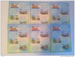 RUSSIA  ANNO 2012 - 10 BF GIOCHI OLIMPICI  INVERNALI SOLCHI 2014 -  NUOVI MNH ** - Inverno 2014: Sotchi