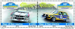 REPUBBLICA DI SAN MARINO - ANNO 2013 -  SPORT DITTICO RALLY -  NUOVI   ** MNH - Nuovi