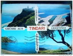 ITALY SICILIA - TINDARI  - ( MESSINA  )  SALUTI ... - VIAGGIATA - Messina