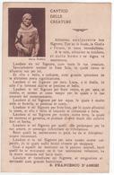 °°° 13724 - CANTICO DELLE CREATURE - PARTITA DA ARTENA PER CECCANO 1935 °°° - Santi